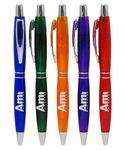 "Custom Engraved Closeout Promotional Colored ""Lustrous"" Pen - No Minumum"
