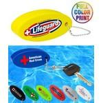 Floating Stress Reliever Keychain Ball - Full Color Logo Branded