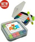 Custom Imprinted Gel Wax Highlighter Kit