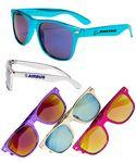 Colored Mirrored Sunglasses Custom Imprinted