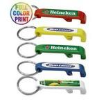 Beer Bottle Opener-Full Color Keychain Custom Printed