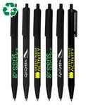 Custom Imprinted Union Printed/ Eco Friendly - Black Ballpoint Click Pen