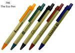 The Eco Friendly Green Ballpoint Pen Custom Imprinted