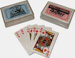 Custom Imprinted Compact Miniature Playing Card Deck 2 1/4""