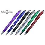 Metallic Smart Phone & Tablet itouch Ballpoint Pen W/Touch Tip Stylus Custom Imprinted