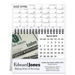 "Branded 5 13/16""x4 1/2"" Personalized Image Desk Calendars"
