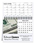 "5 13/16""x4 1/2"" Personalized Image Desk Calendars Logo Printed"