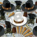 Western Nights New Year's Eve Party Kit for 50 Custom Imprinted