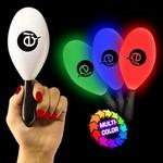 "7 1/2"" Light-Up Maracas Logo Branded"