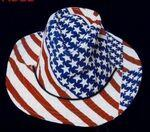 Promotional Stars and Stripes Cowboy Hat