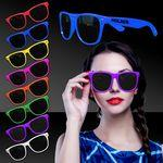 Custom Printed Premium Classic Retro Sunglasses- Variety of Colors.