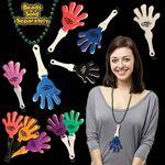 "Personalized,Customized 7"" Hand Clappers w/ Attached J Hook - Variety of colors!"