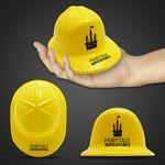 Custom Imprinted Mini Yellow Plastic Construction Hat
