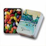 Keepsake Gift Tin w/ Jelly Beans (Assort.) Logo Branded