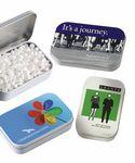 Rectangular Tin w/ Assorted Jelly Beans Logo Branded