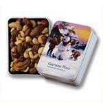 Custom Printed Keepsake Gift Tin w/ Deluxe Mixed Nuts