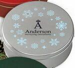 Logo Branded Collector Tins w/Twist Wrapped Truffles (40 Pieces)