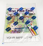 Custom Imprinted Stay Drug Free Coloring Book Fun Pack