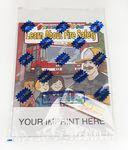 Learn About Fire Safety Sticker Book Fun Pack Custom Imprinted