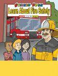 Learn About Fire Safety Sticker Book Custom Printed