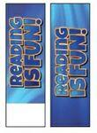 Reading in Fun Bookmark Logo Branded