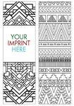 Coloring Bookmark - Patterns Custom Printed