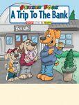 A Trip to the Bank Sticker Book Logo Branded