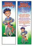 Custom Printed Bike Safety Bookmark