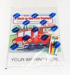 Custom Imprinted A Visit to the Fire Station Coloring Book Fun Pack