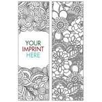 Logo Branded Coloring Bookmark - Nature