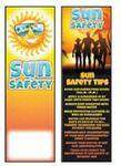 Sun Safety Bookmark Logo Branded