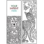 Coloring Bookmark - Animals Logo Branded