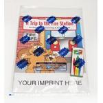 A Trip to the Fire Station Coloring Book Fun Pack Custom Printed