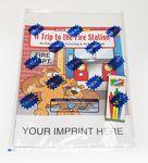 A Trip to the Fire Station Coloring Book Fun Pack Logo Branded