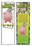 Saving Money for Kids Bookmark Custom Imprinted