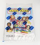 Drug Free Coloring & Activity Book Fun Pack Custom Imprinted