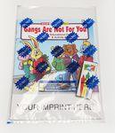 Gangs Are Not For You Coloring Book Fun Pack Custom Imprinted