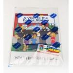 Custom Imprinted A Visit To The Police Station Coloring Book Fun Pack