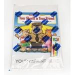 Custom Imprinted Your Sheriff Is Your Friend Coloring and Activity Book Fun Pack