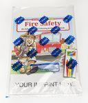 Fire Safety Coloring & Activity Book Fun Pack Custom Printed