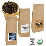 6 Oz. Gourmet Organic Fair Trade Certified™ Coffee Bag w/Printed Label Custom Printed