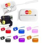 Travel Credit Card and Key Silicone Case Logo Branded