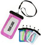 Logo Branded Waterproof Cell Phone Pouch W/Lanyard