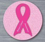 "Logo Printed 1.5"" Stock Buttons (Breast Cancer Awareness)"