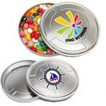Custom Printed Movie Reel Tin - Jelly Beans