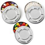 Mini Movie Reel Shape Tin Box with mints Logo Branded