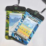 Custom Printed Compass Camouflage Waterproof Bag For iPhone 6