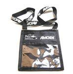Logo Branded Customized Lanyard with Large Pouch Badge Holder