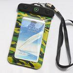 Custom Printed Compass camouflage Waterproof Bag for iPhone 6 plus