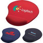 Logo Branded Wrister Mouse Pad